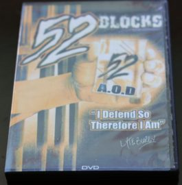 """52 Blocks DVD """"I Defend so Therefore i Am"""""""