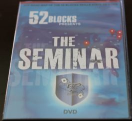 52 Blocks The Seminar DVD (Digital Access)