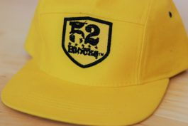 52 Blocks Hat – Yellow