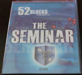 52 Blocks The Seminar DVD (Digital Access)