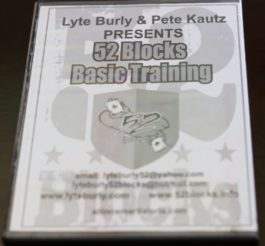 52 Blocks Basic training DVD (Digital Access)