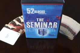 52 Blocks The Seminar DVD Flash Cards